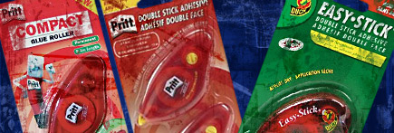 Pritt Double Stick Permanent Adhesive is the Old Duck Brand Stuff
