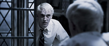 Tom Felton as Draco Malfoy in Harry Potter and the Half-Blood Prince