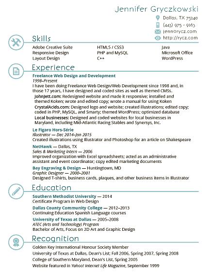 Jennifer Gryczkowski's Resume
